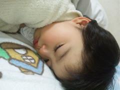 上の子2才、寝顔